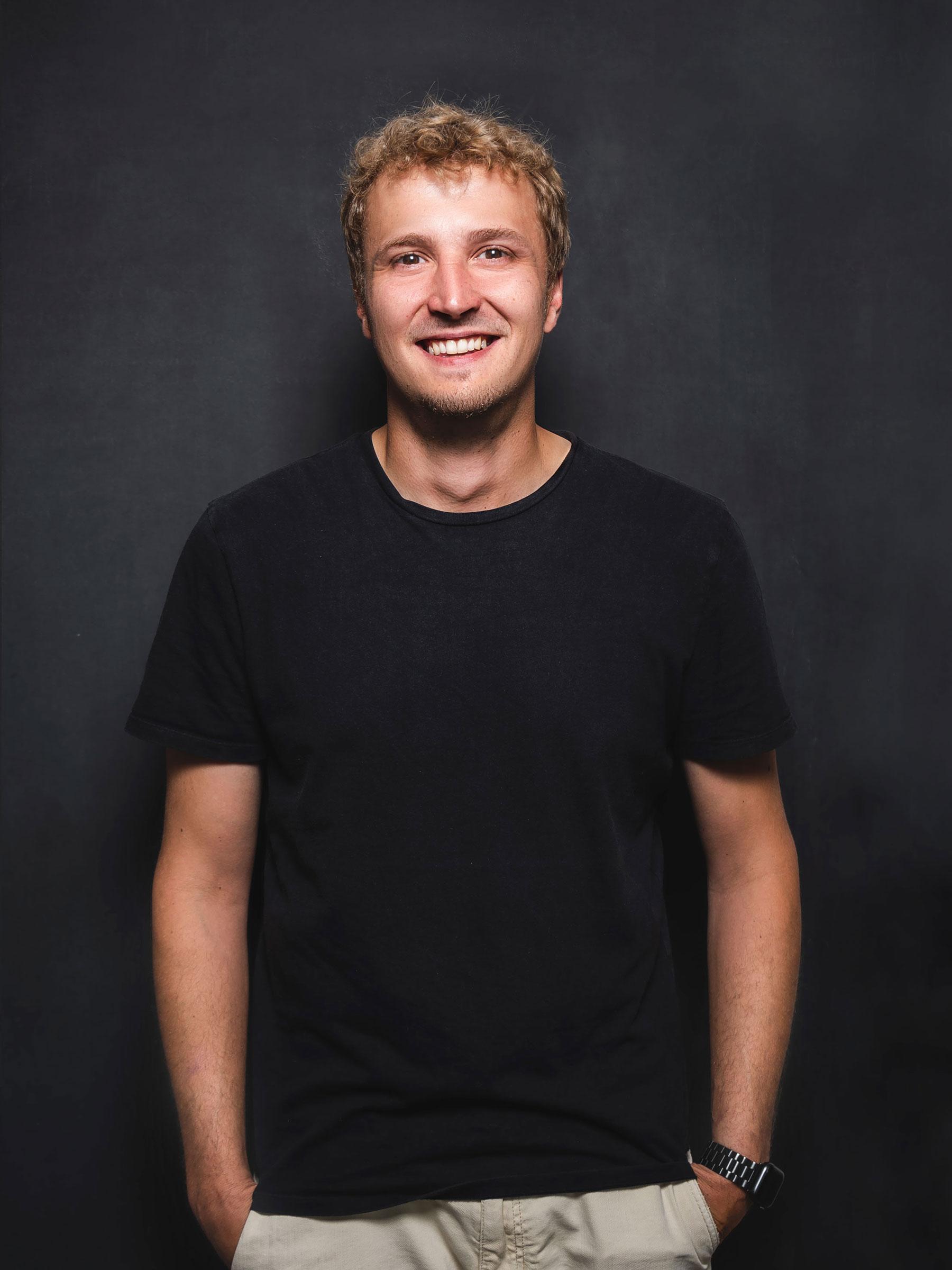 Teamfoto Johannes Leyendecker – Teamleitung BCS Design Lab