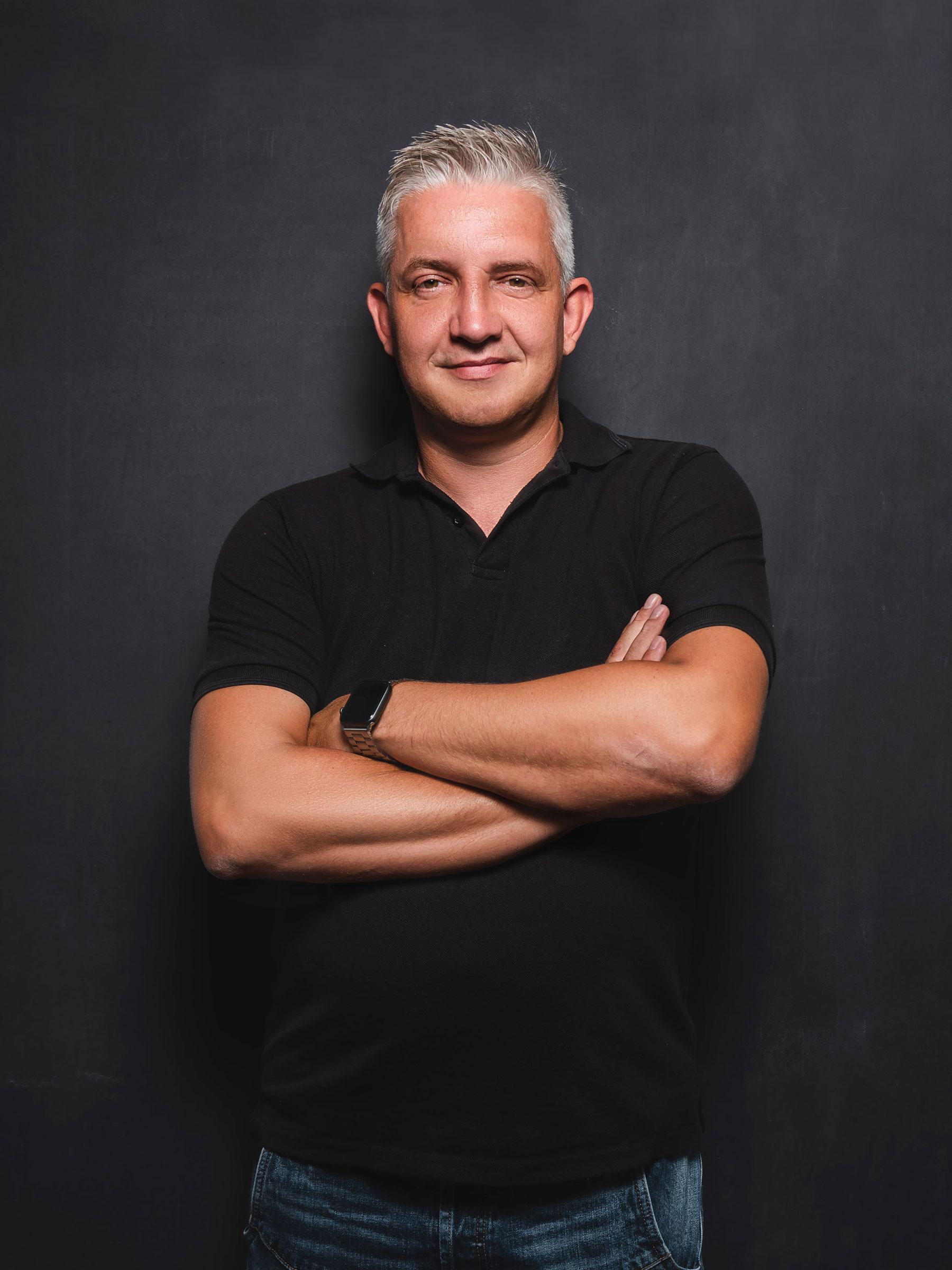Teamfoto Matthias Brambosch – Geschäftsführer BCS Design Lab